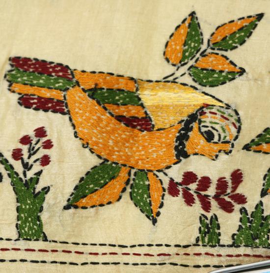 Kantha Embroidery Study Seen Through Western Eyes Gail Harker
