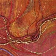Gail Harker's Metal Thread Sample © Gail Harker