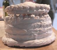 © Don Harker Spanish Wind Cake has 30 egg whites