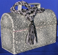 © Denise Liberio's 3 dimensional embroidered lunchbox received a lot of attention at her exhibition in 2007.