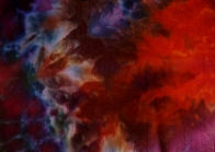 Procion MX snow dyed fabric ©June Steegstra