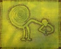 © Carol Burrows - machine embroidery