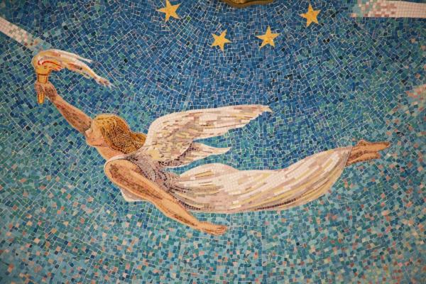 detail of Mosaic artwork