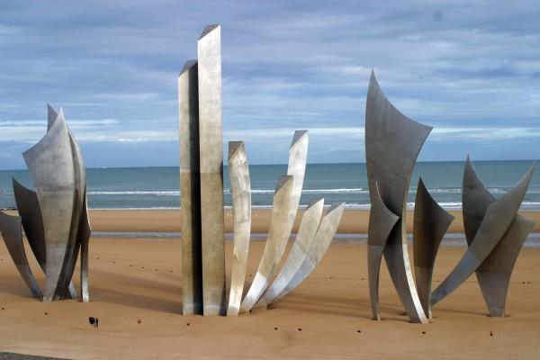 Memorial on Omaha Beach