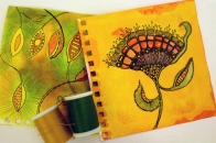 Gail's sketches could be made into lace
