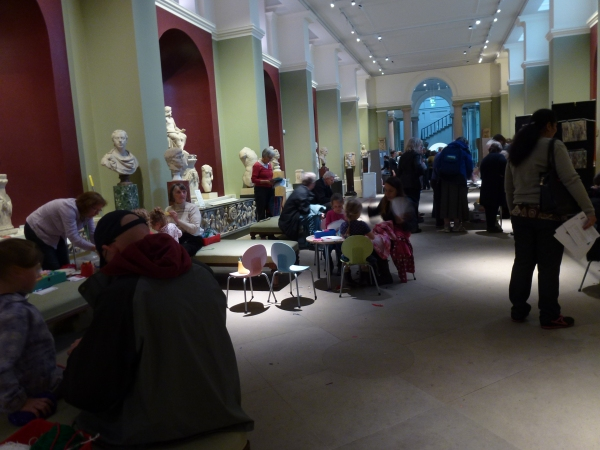 activity at the museum