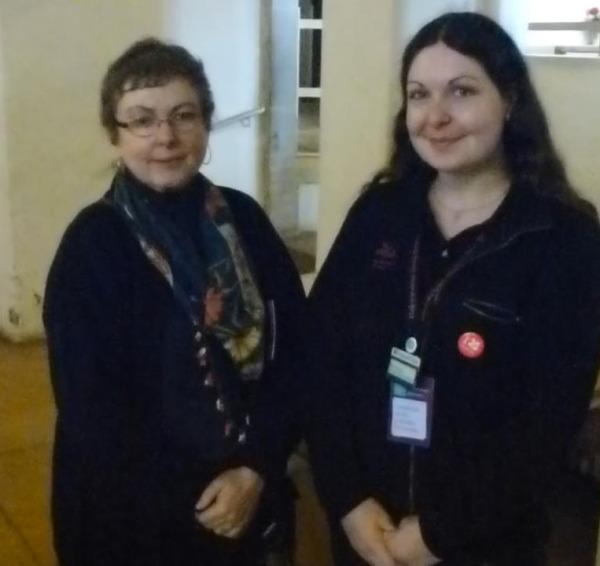 Wordpress bloggers Ellie and Gail meet