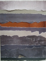 © Cathy Glover - color study in paper