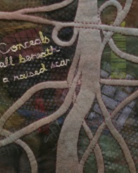 © Maria Winner - machine Stitched artwork