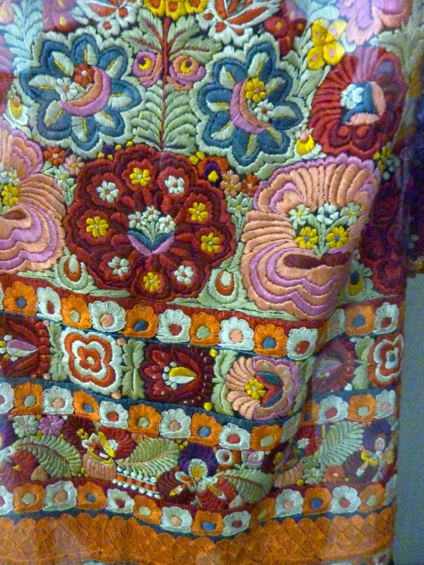 Skirt Detail, Traditional Woman's Costume, Romania, Mid 20th C