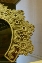 Detail, 18th C Headdress, The Russian Museum, St Petersburg