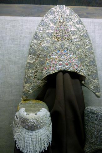 Head Dresses, Stieglitz Museum, St Petersburg
