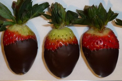 Perfect strawberry and dark chocolate by Don