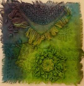 © Nancy Scagliotti - Collage and Hand Stitch