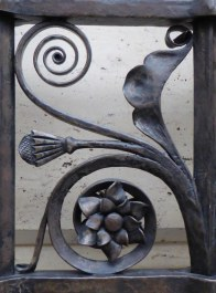 © Gail Harker Detail of ornate wrought iron on Asian Museum