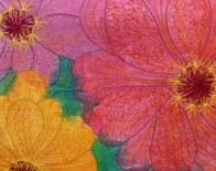 © Karen Selk - hand painted with Machine Stitch