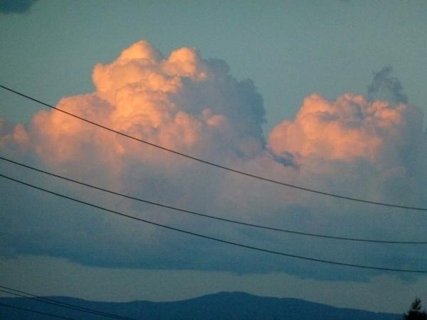 Design Inspirations - Northwest clouds ©Gail Harker