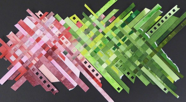 ©Gloria Shelton -  color study collage