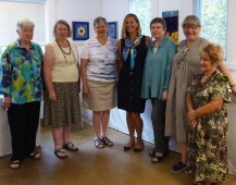 Graduates from left: Gillian Smith, Pauline Oakey, Linda Ingham, Lynette barnes, Gail Harker - tutor, Wendy MacKinnon and Patti Olds. Missing M argaret Joseph
