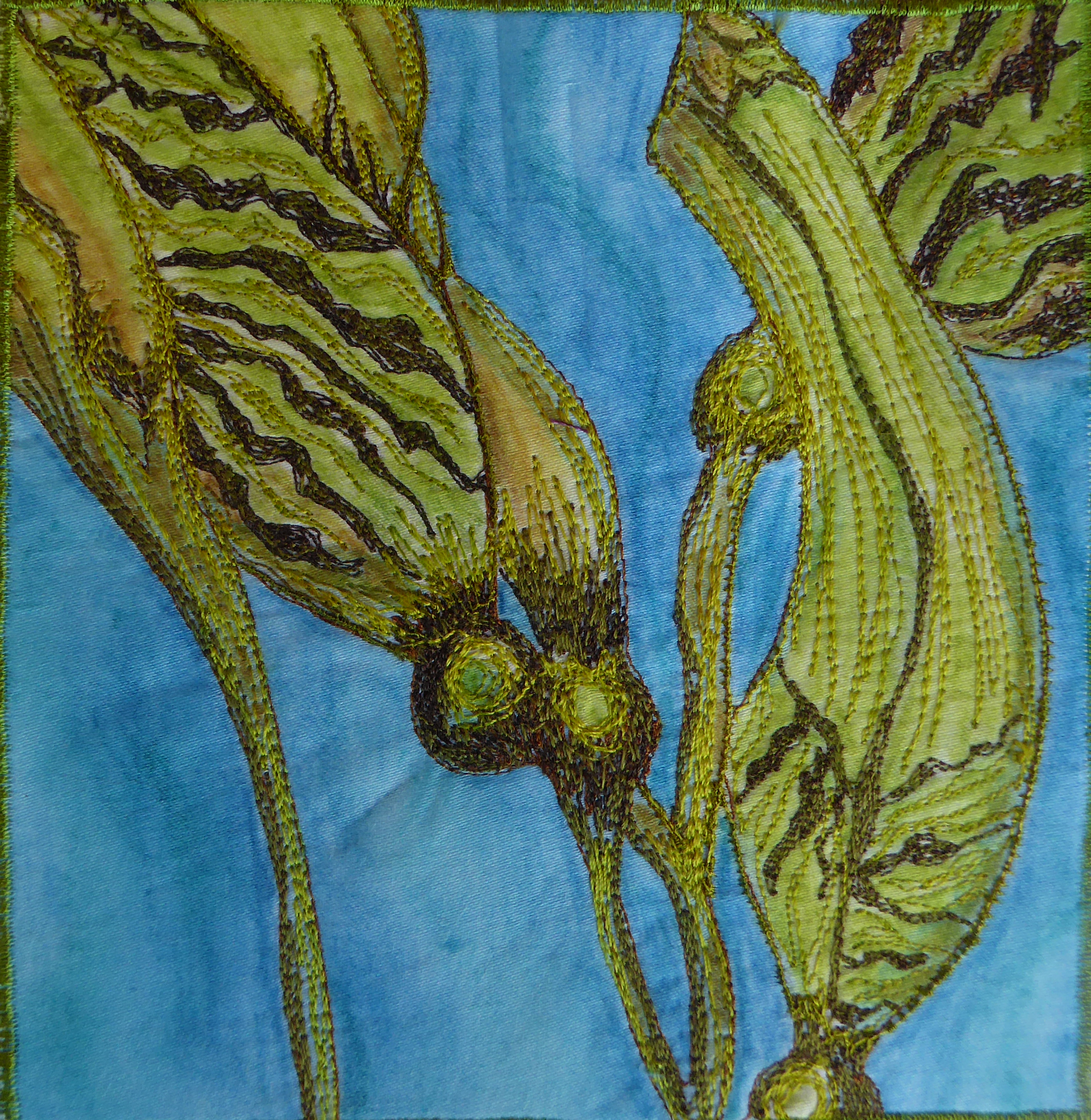 The Art Of Machine Embroidery | Gail Harker Center For Creative Arts