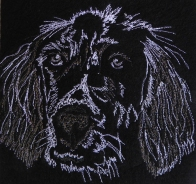 © Christina Fairley Erickson - machine embroidery