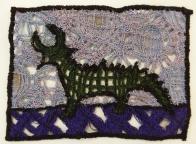 © Isabel Gaddis - machine embroidery