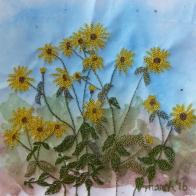 © Joan Butterfield - machine stitch