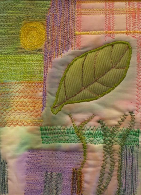 ©Pauline Oakey - machine embroidery