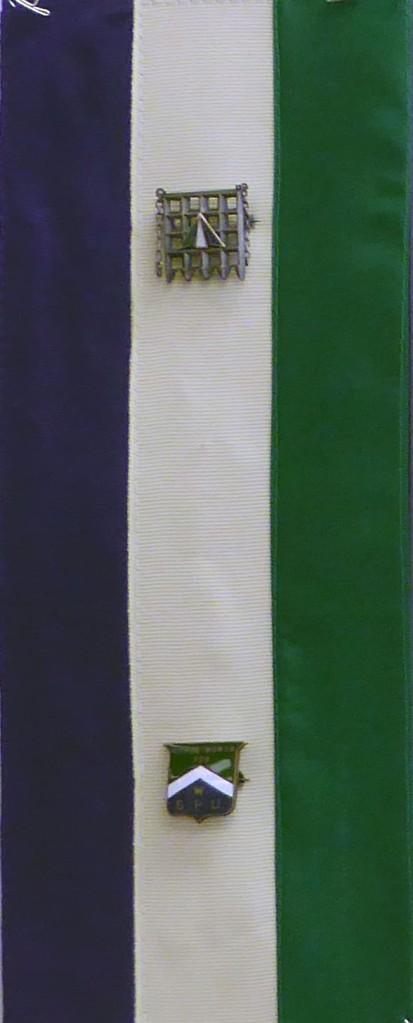 ©Pauline Oakey -Suffragette Ribbons from Pauline Oakey's grandmother