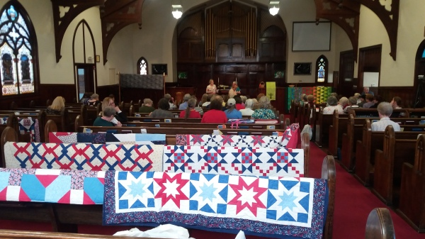 Gail's presentation at the United Church in Anacortes