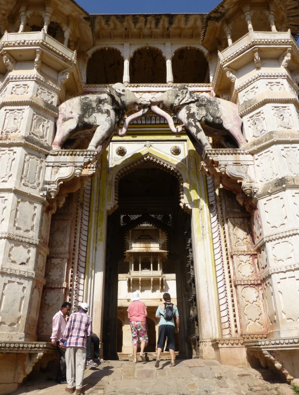 Elephant Gate, Taragarh Fort, Bundi, Rajasthan, India