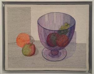 """The Big Blue Bowl"" by Audrey Walker 2013."
