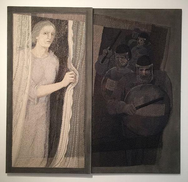"""Observed Incident"" by Audrey Walker 2002."